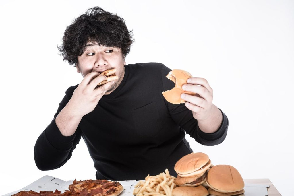 たくさん食べる人
