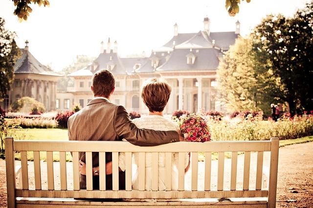 初対面の男女が公園デート